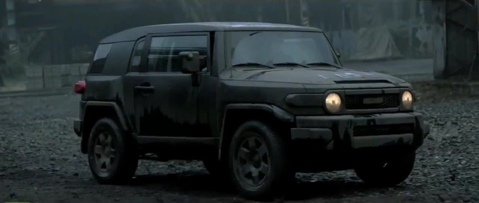 TOYOTA FJ CRUISER in Ghost Recon Alpha