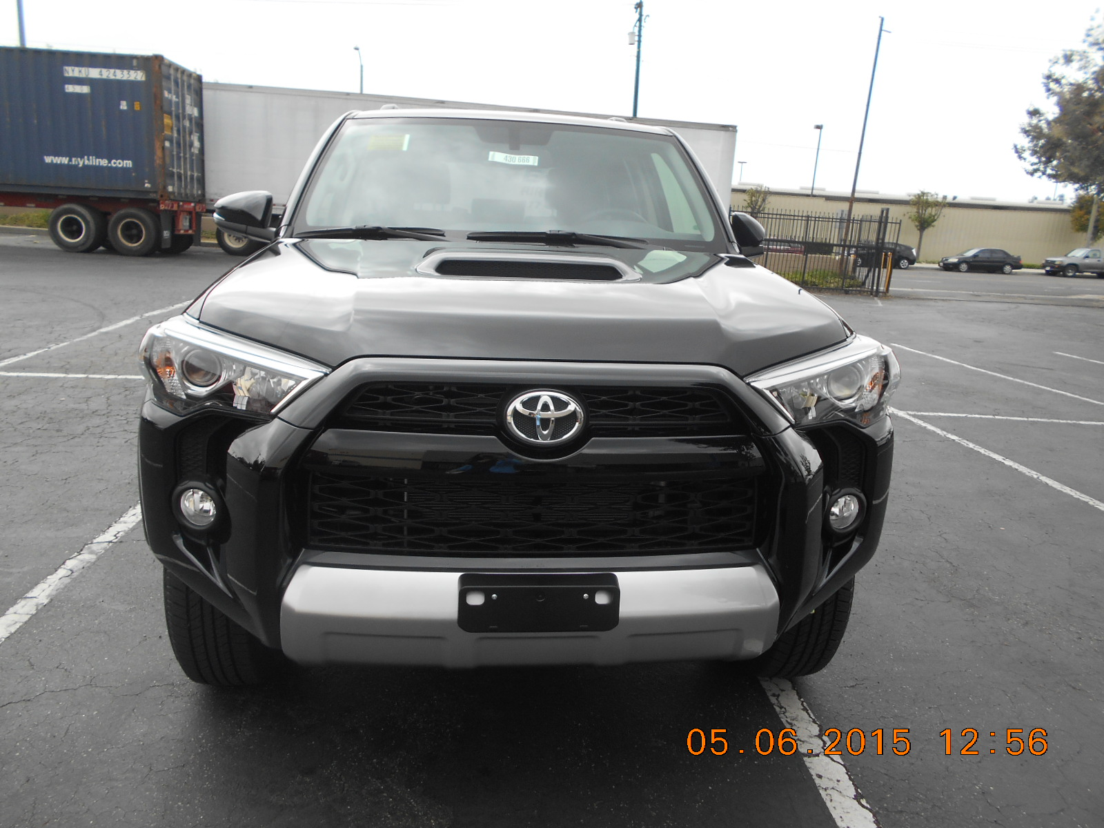 2015 TOYOTA 4RUNNER TRAIL黑色